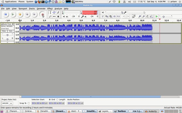 Audacity Audio Recorder