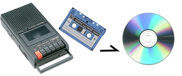 Transfer Music From Cassette Tape to Digital CD