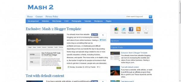 15 Premium Free Blogger Templates