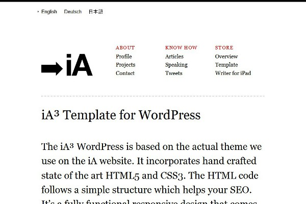 The Ideal Website WordPress Theme