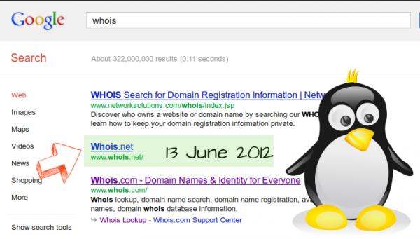 Whois Google Penguin