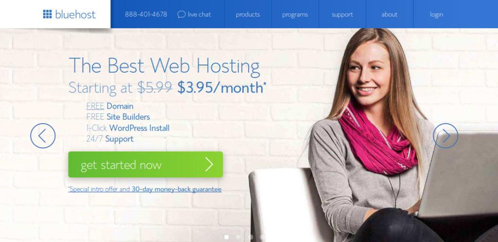Bluehost Blog Hosting