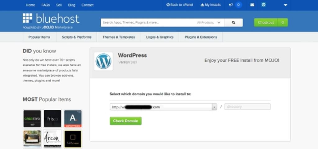 wordpress-install-mojo