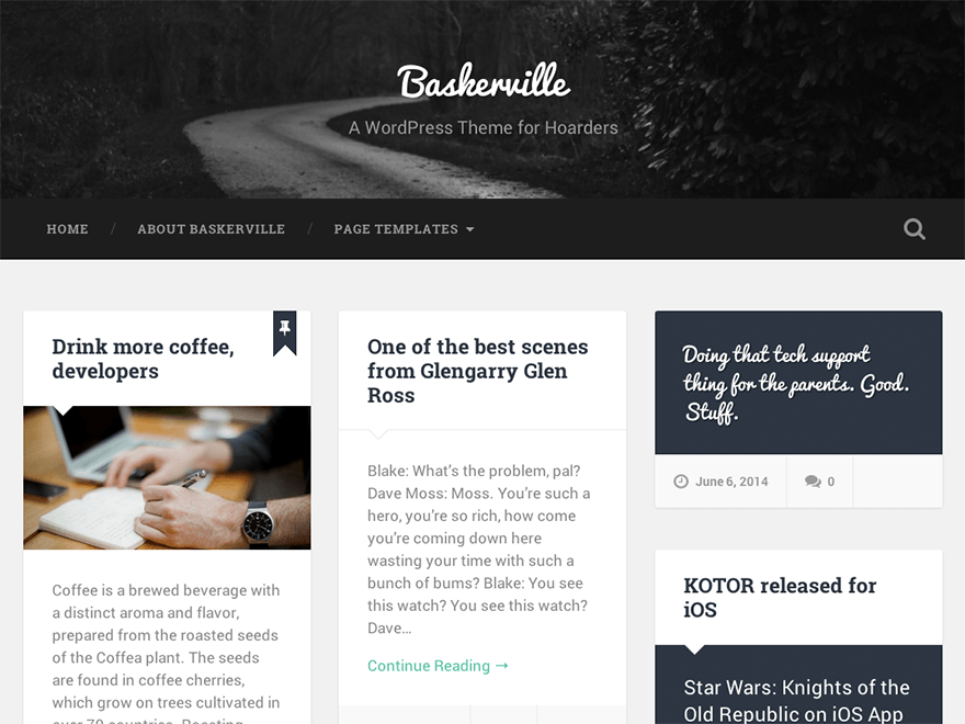 baskerville-wp-blogging-theme