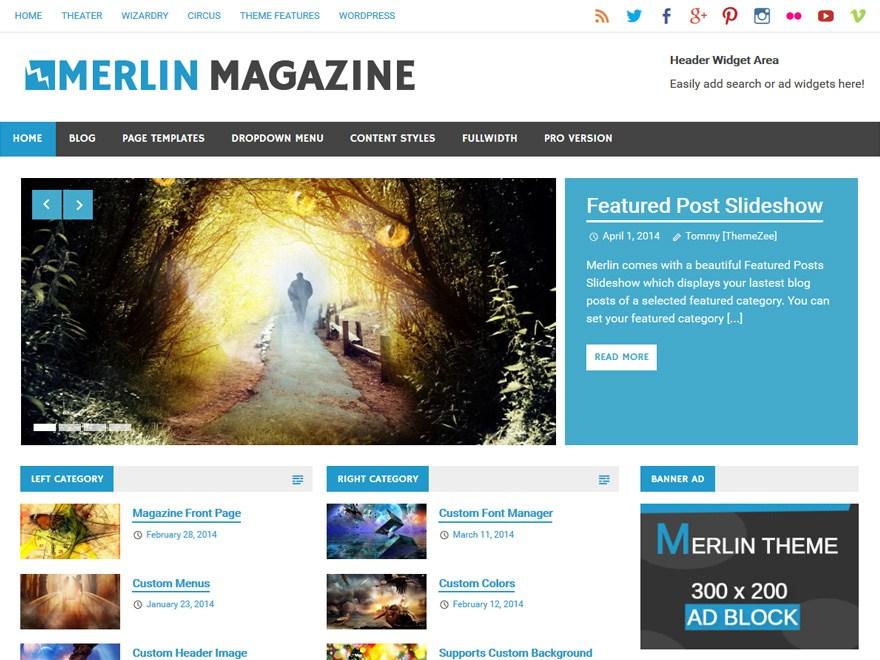 merline-wp-mag-theme