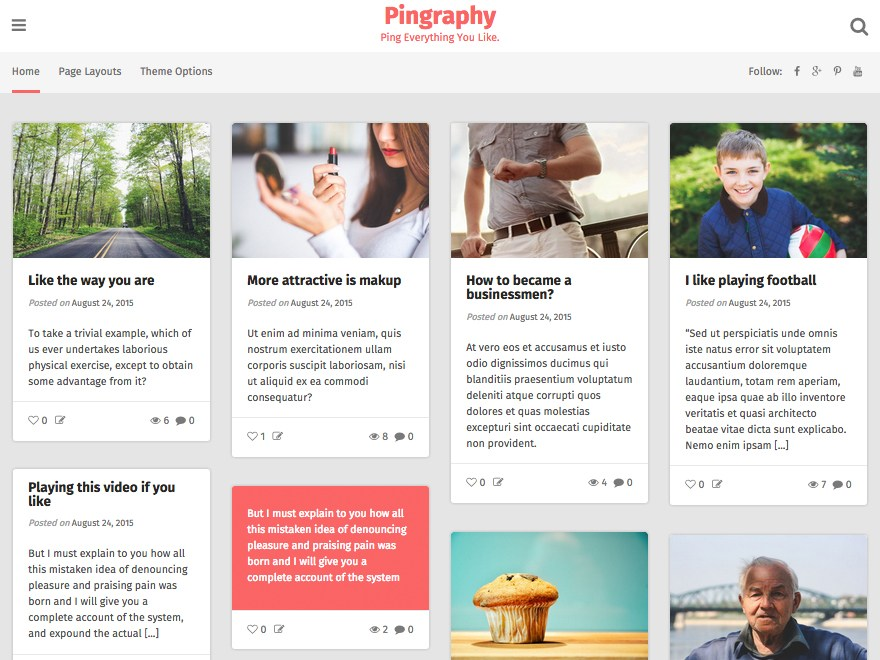 pingraphy-wp-blogging-theme