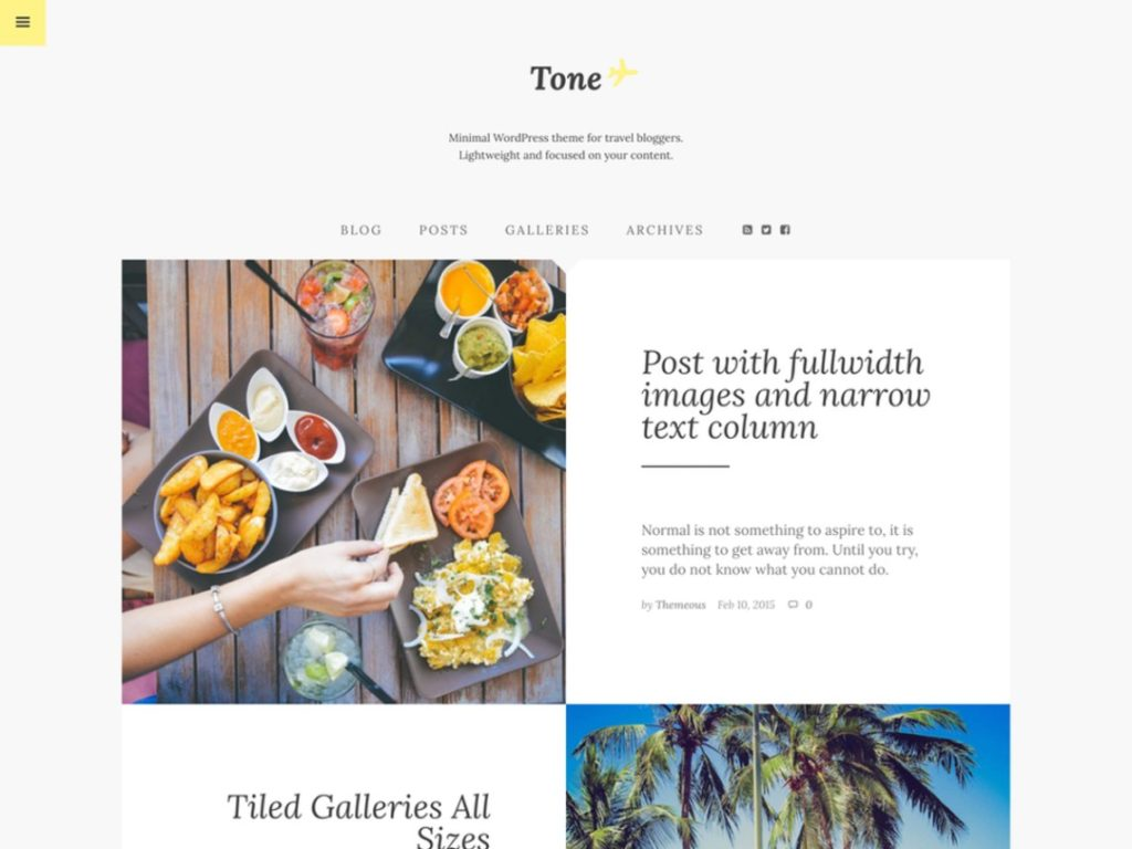 tone-wp-blogging-theme