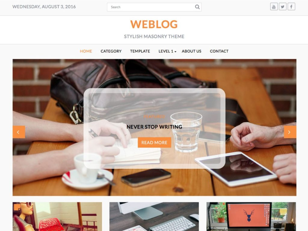 weblog-wp-blogging-theme