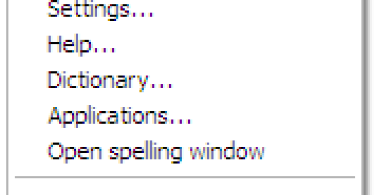 Add Spell Checking to Windows Apps